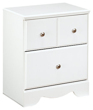Weeki Nightstand, White, large
