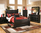 Almost Black Shay Chest of Drawers View 4