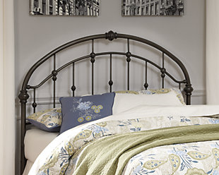 Nashburg Queen Metal Headboard, , rollover