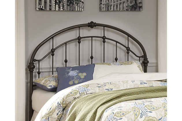 Nashburg Queen Metal Headboard Large