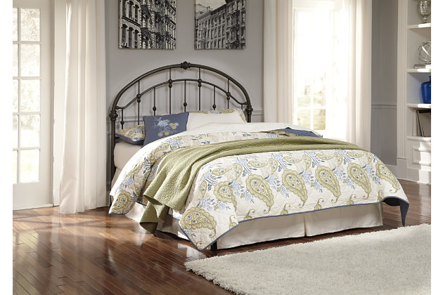 Nashburg Queen Metal Headboard, , large