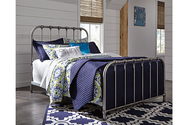 Nashburg Queen Metal Bed Ashley Furniture Homestore