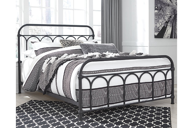 Nashburg Metal Bed, , large