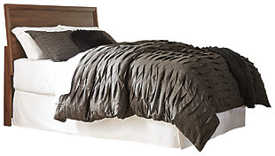 Daneston Queen Panel Headboard, Brown/Graphite, large