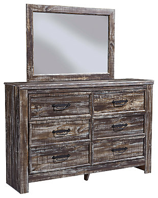 Lynnton Dresser and Mirror, , large
