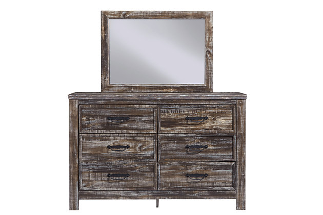 Lynnton Dresser and Mirror, , large