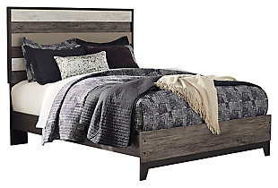 Micco Queen Panel Bed, Multi, large