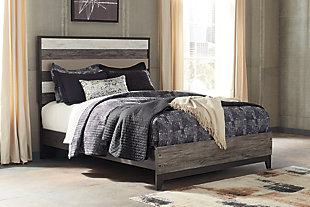 Micco Queen Panel Bed, Multi, rollover