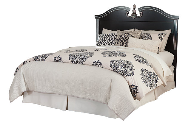 Navoni Queen/Full Panel Headboard by Ashley HomeStore, Black