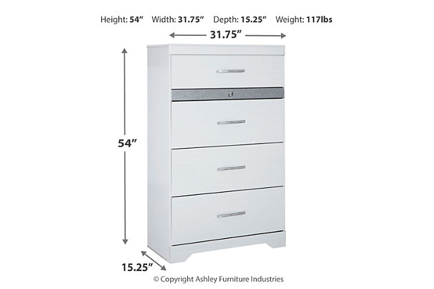 Jallory Chest of Drawers, , large