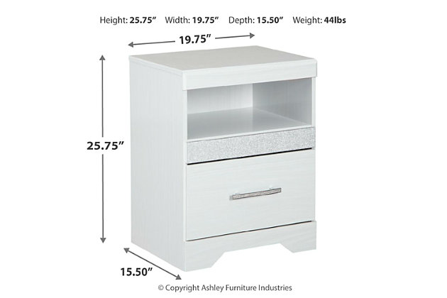 Jallory Nightstand, , large