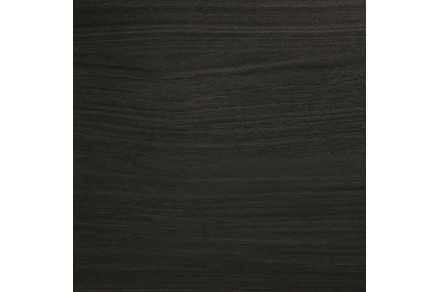 Starberry Queen/Full Panel Headboard, Black, large