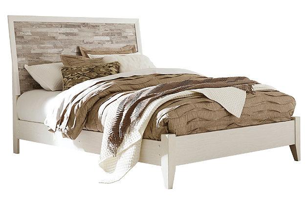 Evanni Queen Panel Bed, Multi, large