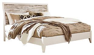 Evanni Panel Bed, , large