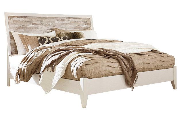 Evanni King Panel Bed, Multi, large