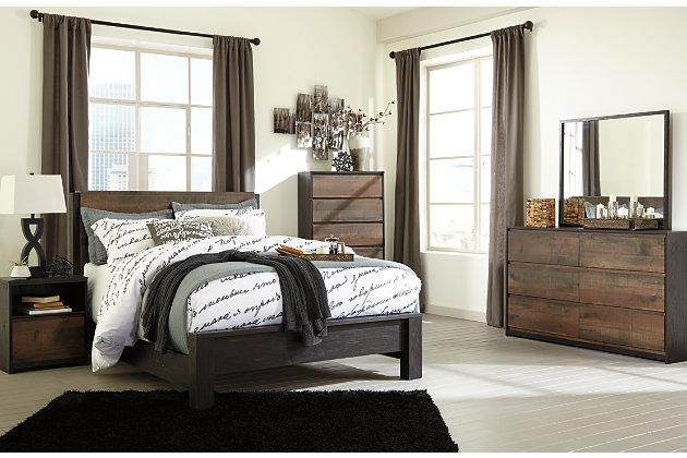 Windlore Dresser And Mirror Ashley Furniture Homestore