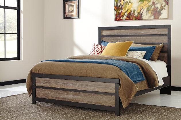 Harlinton 4-Piece Queen Panel Bedroom by Ashley HomeStore...