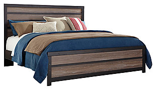 Harlinton Queen Panel Bed, , large