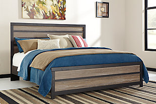 Harlinton Queen Panel Bed, , rollover