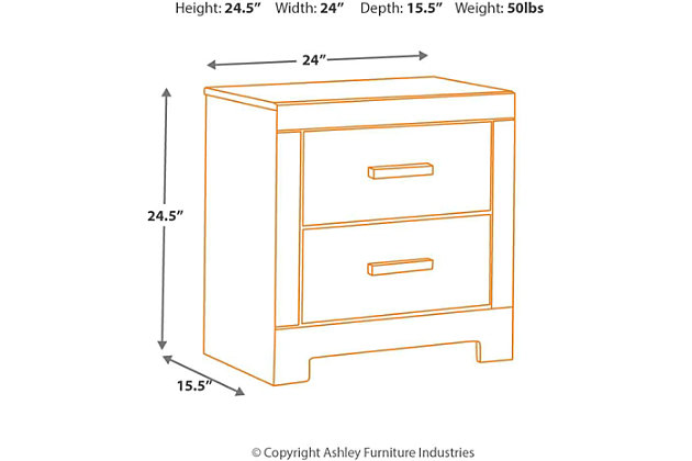 harlinton nightstand | ashley furniture homestore