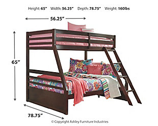 Halanton Twin over Full Bunk Bed, , large