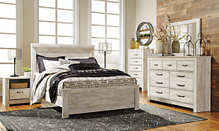 Bellaby Queen Bed with 2 Nightstands, , rollover
