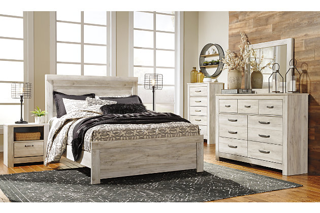 Bellaby Queen Bed With 2 Nightstands Ashley Furniture