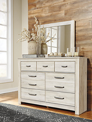 Large Bellaby Dresser And Mirror Rollover