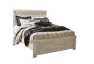 Bellaby Queen Panel Bed, Whitewash, large