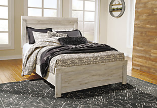 Bellaby 5-Piece Bedroom Package, Whitewash, rollover