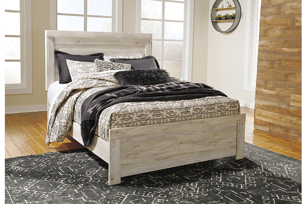 Bellaby Queen Panel Bed with 2 Nightstands, , large
