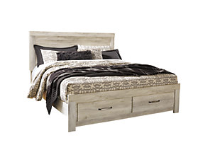 Bellaby Platform Bed with Storage, , large