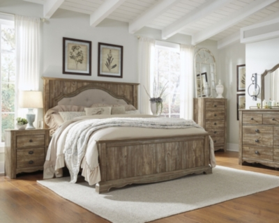 Bed Nightstands Caramel King Product Photo 626