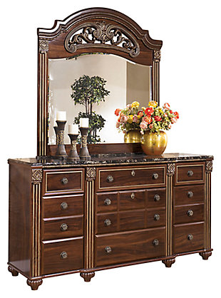 Gabriela Dresser and Mirror, , large
