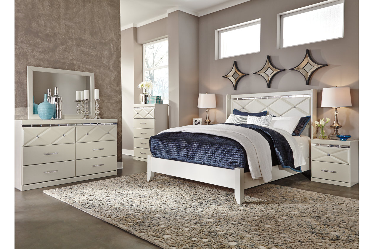 Dreamur Queen Panel Bed Ashley Furniture Homestore