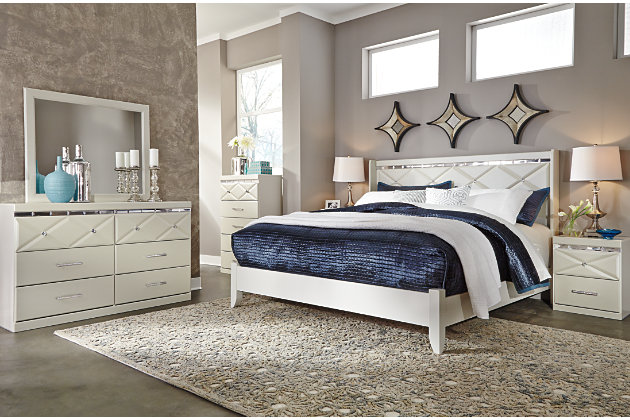 Dreamur Dresser and Mirror, , large