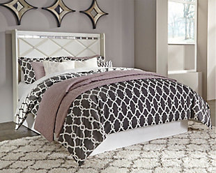 Dreamur Queen Panel Headboard, Champagne, rollover