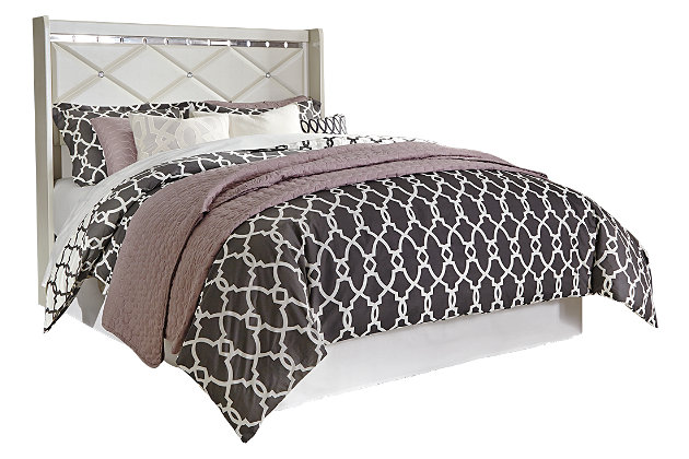 Dreamur Queen Panel Headboard, Champagne, large