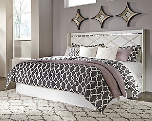 Dreamur King/California King Panel Headboard, Champagne, rollover