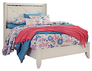 Dreamur Full Panel Bed, Champagne, large