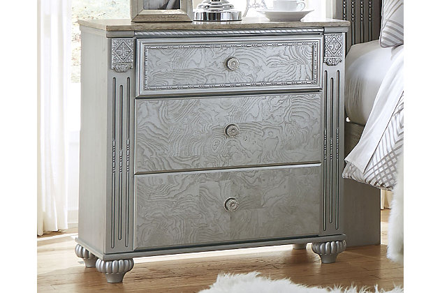 Zolena Nightstand, , large