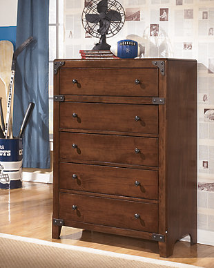 Delburne Chest of Drawers, , rollover