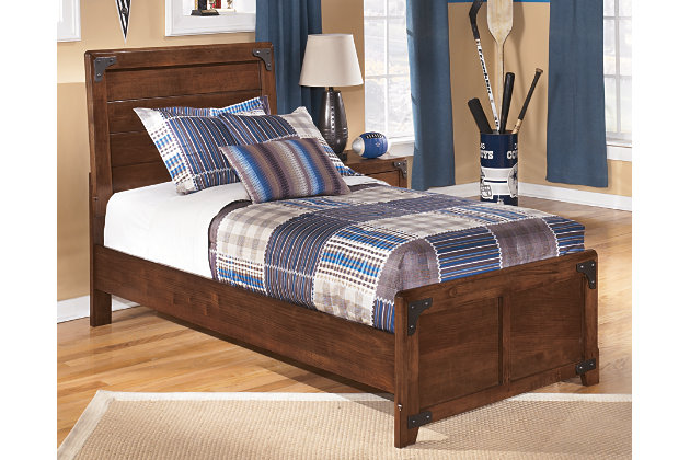 Cool Delburne Twin Panel Bed Recommended Item