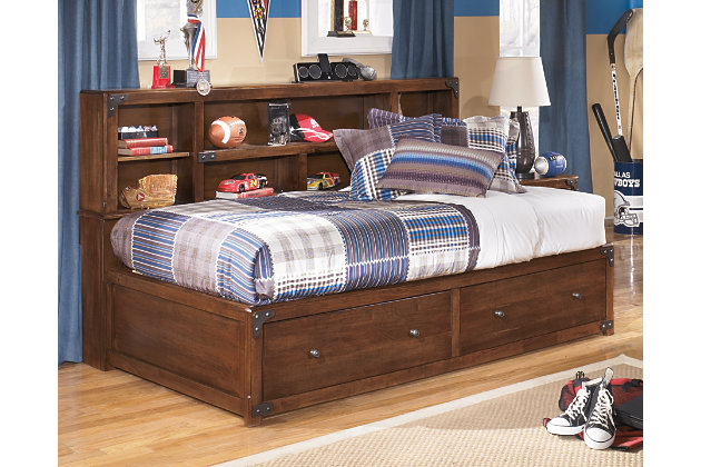 Purchase Delburne Twin Bookcase Bed Product Photo