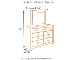 Cinrey Dresser and Mirror, , large