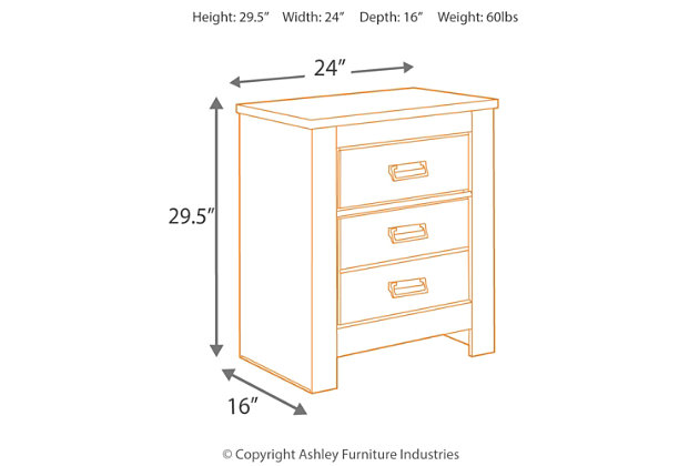 Cinrey Nightstand, , large