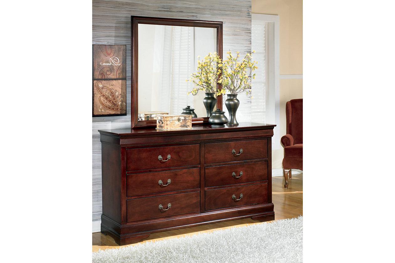 Alisdair Dresser And Mirror Ashley