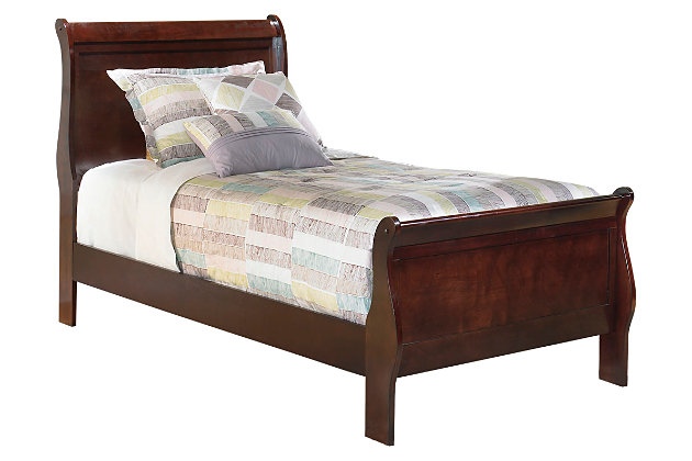 Alisdair Twin Sleigh Bed by Ashley HomeStore, Brown