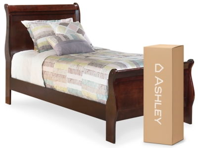 "Ashley Alisdair Twin Sleigh Bed with 8"" Innerspring Mattress"