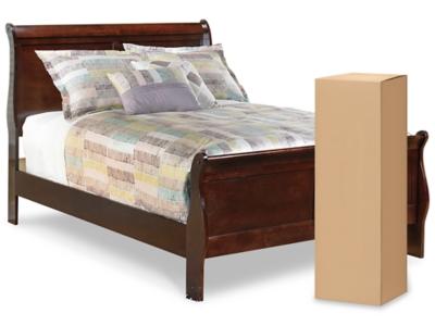 "Ashley Alisdair Full Sleigh Bed with 8"" Innerspring Mattress"